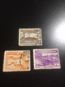 Peru sc C73-C75 u comp set