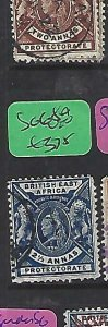 BRITISH EAST AFRICA (P1809B)  LION, QV  2 1/2A  SG 68B   VFU