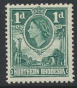 Northern Rhodesia  SG 62  SC# 62 MLH  see detail and scan
