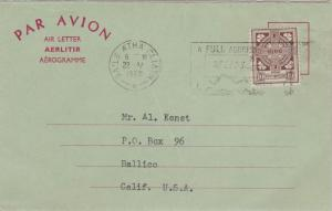 Ireland 10d Celtic Cross 1968 Baile Atha Cliath A Full Address Speeds Deliver...