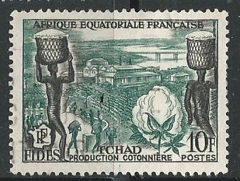 French Equatorial Africa  + Scott # 190 - MH