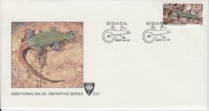 1986 South Africa Venda Lizard (Scott 138) FDC
