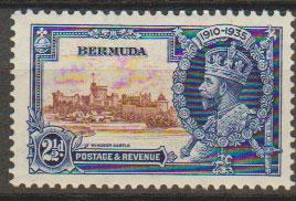 Bermuda SG 96 Mint Hinged  good centering
