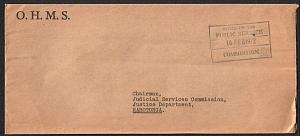 COOK IS 1972 Local Rarotonga official cover : Pub Service Commission......14913W
