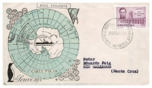 Argentina, Antarctic Cachet and/or Cancel, #125