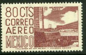 MEXICO C265, 80cents 1950 Definitive 2nd Printing wmk 300. MINT, NH. F-VF.
