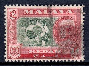 Malaya (Kedah) - Scott #104 - Used - Pencil on reverse - SCV $22