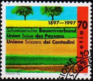 Switzerland. 1997 70c. S.G.1350  Fine Used