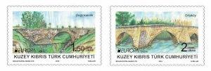 TURKISH CYPRUS - EUROPA CEPT (BRIDGES) STAMP, MNH, 2018
