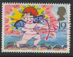Great Britain SG 1424 Used  Greetings Stamp 1989 issue   SC# 1244