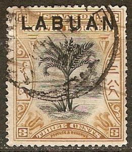 Labuan 75 SG 91 Used F/VF 1897 SCV $8.00