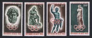 Upper Volta Summer Olympic Games Tokyo 4v SG#145-148 SC#C14-C17 MI#148-151