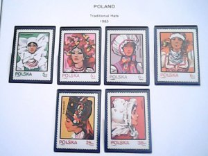 1983-84  Poland  MNH  full page auction