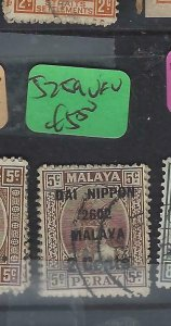 MALAYA JAPANESE OCCUPATION PERAK  (P1004B) DN  2C/5C  SG J259  VFU