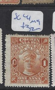 INDIAN NATIVE STATE COCHIN  (P3012B)  SG  41   MOG