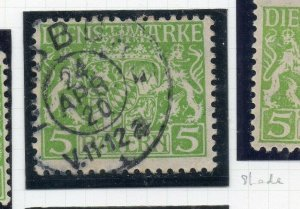 Bayern 1916 Official Early Issue Fine Used 5M. NW-10784
