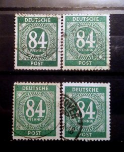 Germany Kontrollrat 936 shades used