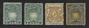 BRITISH EAST AFRICA - #15 - #17 - #80 -  ALL VF