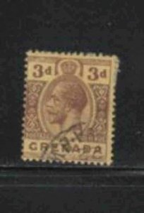 GRENADA #83  1913  3p  KING GEORGE V       F-VF  USED