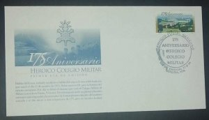 A) 1998, MEXICO, HEROIC MILITARY COLLEGE, FDC, XF