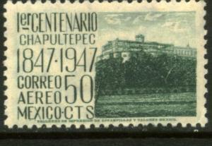 MEXICO C182, 50c 1847 Battles Centennial. MINT, NH. F-VF.