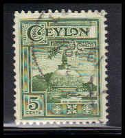 Ceylon Used Fine ZA4656