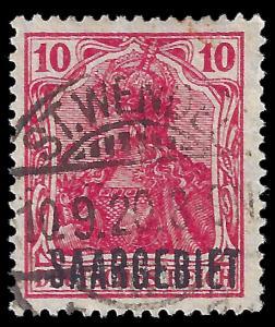 Saar 1920 Sc 43 uvg