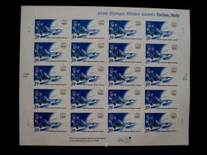 US - SCOTT# 3995 - PANE 20 - MNH - CAT VAL $16.00 (_4)