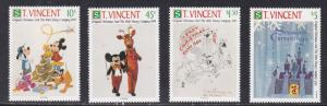 St. Vincent # 1568 / 1575, Disney Christmas Cards, NH