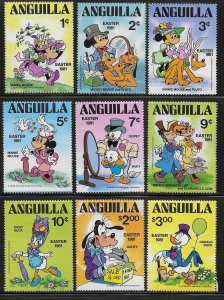Anguilla 434-442 Disney 1981 Easter MNH c.v. $5.25