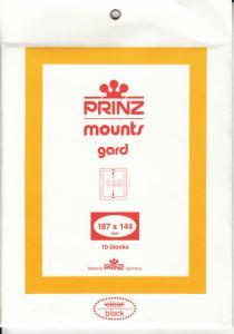 PRINZ BLACK MOUNTS 187X144 (10) RETAIL PRICE $15.00