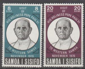 Samoa #337-8 MNH F-VF (ST976)