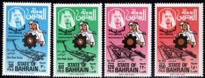BAHRAIN Scott 210-213 MNH** Sitra Power station set