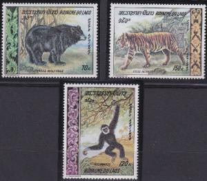 Laos C59-C61 MNH (1969)