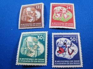 GERMANY  (DDR) -  SCOTT #85-88     MLH   (dd)