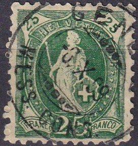 Switzerland #83   F-VF Used CV $3.25 (Z2550)