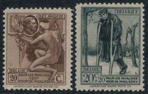 Belgium #B51-2* CV $3.90