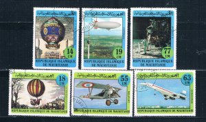 Mauritania 522-27 Used set Manned Flight 1982 (HV0104)