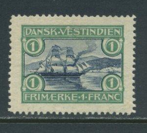 Danish West Indies 37  MLH tiny thin