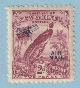 NEW GUINEA C17 AIRMAIL  MINT NEVER HINGED OG ** NO FAULTS EXTRA FINE!