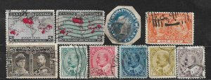 COLLECTION LOT OF 10 CANADA 1898+ STAMPS CV+ $58