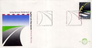 Netherlands, First Day Cover, Automobiles