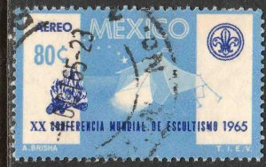 MEXICO C305, 20th World Scout Conference. USED. VF. (1214)