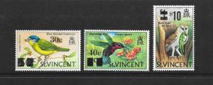 BIRDS - ST VINCENT #364-6  MNH