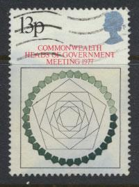 Great Britain SG 1038  - Used -  CHOGM  Heads of Government