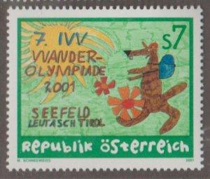 Austria Scott #1848 Stamp - Mint NH Single