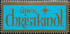 1984/2003 Austria Christkindl, Christmas, Routing Label VF/MNH! CAT 28$ LOOK!