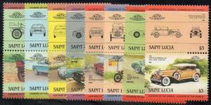 St Lucia  Scott   686-693  MNH Complete set.
