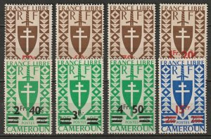 Cameroun 1946 Sc 297A-303 Yt 266-73 set MLH*