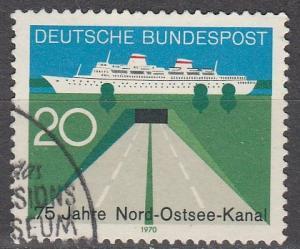 Germany #1021 F-VF Used  (S151)